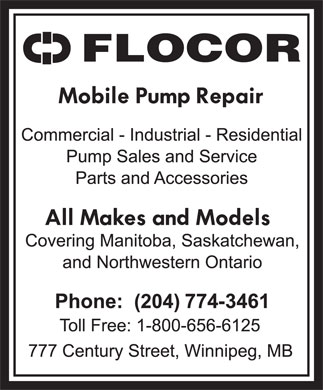 Flocor (204-774-3461) - Display Ad