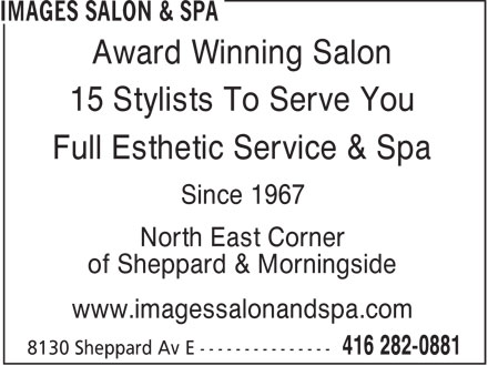 Images Salon & Spa (416-282-0881) - Display Ad