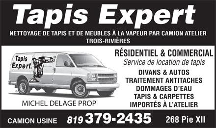 Tapis expert 2760 rue de la sidbec n trois rivi res qc for Meuble bdm trois rivieres