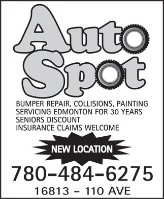 Auto Spot (780-484-6275) - Display Ad
