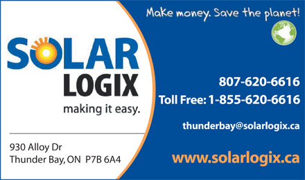 Solar Logix (807-620-6616) - Display Ad