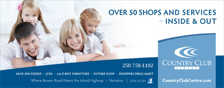 Country Club Centre (250-758-1102) - Display Ad - 250 758-1102  250 758-1102
