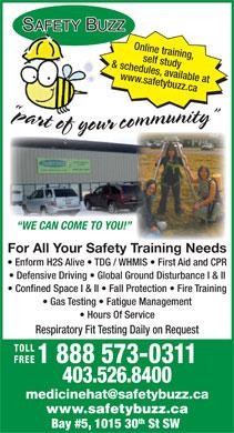 Safety Buzz Ltd - 5-1015 30 St SW, Medicine Hat, AB