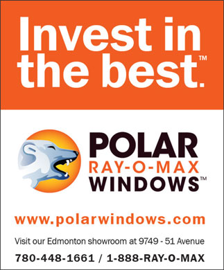 Polar Ray-O-Max Windows (780-448-1661) - Annonce illustrée