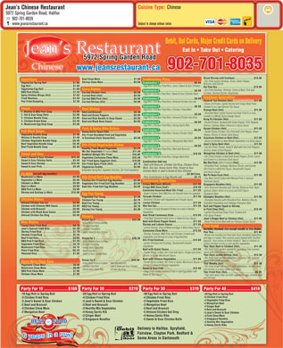 Jean's Chinese Restaurant (902-444-7776) - Display Ad