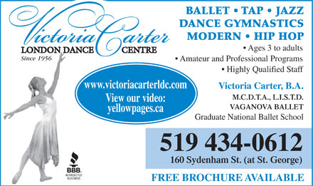london ontario adult dance classes