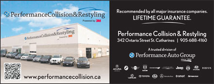 Performance Collision & Restyling (905-688-4160) - Annonce illustrée