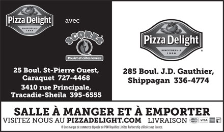 Pizza Delight (506-336-4774) - Display Ad