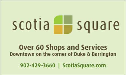 Scotia Square Mall (902-429-3660) - Display Ad