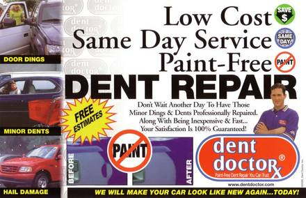 Dent Doctor Paintless Dent Removal (416-518-3368) - Promo